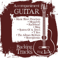 Backing Tracks Band - Accompaniment Guitar Backing Tracks (Manic Street Preachers / Megadeth / Radiohead / Sting / System of a Down / T Rex / The Allman Brothers / Stereophonics), Vol.14