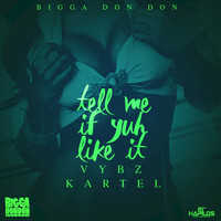 Vybz Kartel - Tell Me If Yuh Like It - Single