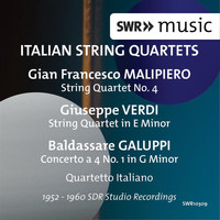 Quartetto Italiano - Italian String Quartets