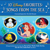 Various Artists - 10 Disney Favorites: Songs from the Sea