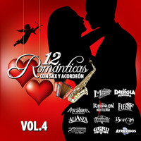 Various Artists - 12 Romanticas Con Sax y Acordeon, Vol.4