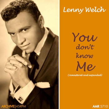 Lenny Welch - You Don't Know Me