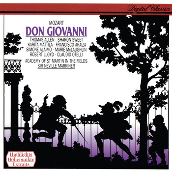 Sir Neville Marriner - Mozart: Don Giovanni (Highlights)