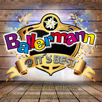 Various Artists - Ballermann @ it's Best - Die XXL Apres Ski Schlager Party 2016 (Explicit)