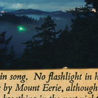Mount Eerie - No Flashlight (2015 Reissue)