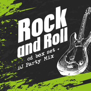Various Artists - Rock and Roll Cd Box Set & DJ Party Mix