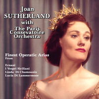 Joan Sutherland with The Paris Consevatoire Orchestra - Finest Operatic Arias