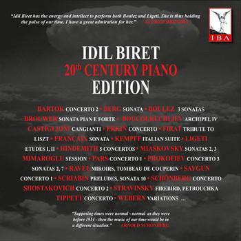 İdil Biret - İdil Biret 20th Century Piano Edition
