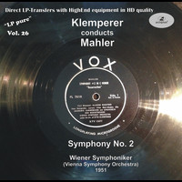 Otto Klemperer - LP Pure, Vol. 26: Klemperer Conducts Mahler (Recorded 1951)