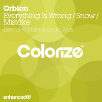 Orbion - Everything Is Wrong / Snow / Mistake