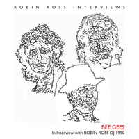 Bee Gees - Interview with Robin Ross DJ 1990