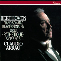 "Claudio Arrau - Beethoven: Piano Sonatas Nos. 3 & 8 ""Pathétique"""