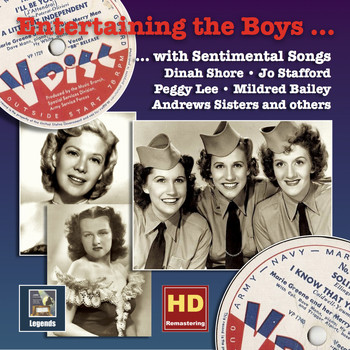 Various Artists - Entertaining the Boys with Sentimental Songs: The V-Discs of the American Forces, Vol. 1 (HD Remastered 2016)