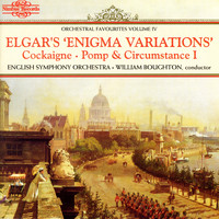 English Symphony Orchestra, Sir Edward Elgar & William Boughton - Elgar's Enigma Variations: Orchestral Favourites, Vol. IV