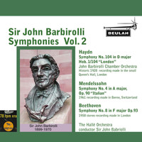 Sir John Barbirolli - Sir John Barbirolli Symphonies, Vol. 2