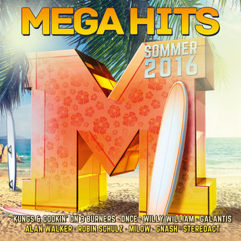 Various Artists - MegaHits - Sommer 2016 (Explicit)