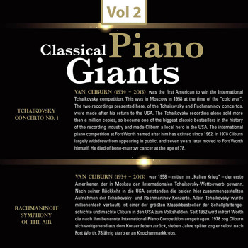 Van Cliburn - Piano Giants, Vol. 2