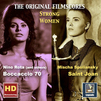 Nino Rota - Strong Women: Saint Joan & Boccaccio 70 – The Original Film Scores (Remastered 2016)