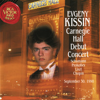 Evgeny Kissin - Evgeny Kissin at Carnegie Hall, New York City, September 30, 1990