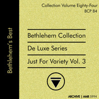 Chris Connor - Deluxe Series Volume 84 (Bethlehem Collection): Just for Variety, Volume 3