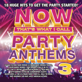 Various - NOW That's What I Call PARTY ANTHEMS 3