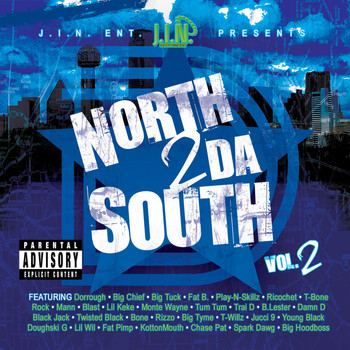 Big Tuck - North 2 Da South, Vol. 2