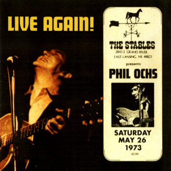 Phil Ochs - Live Again!