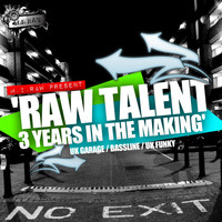 Various Artists - Raw Talent: 3 Years In The Makin' (2007-2010)