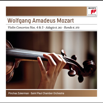 Pinchas Zukerman - Mozart: Works for Violin & Orchestra