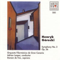 Adrian Leaper - Gorecki: Symphony No. 3 For Orchestra And Soprano