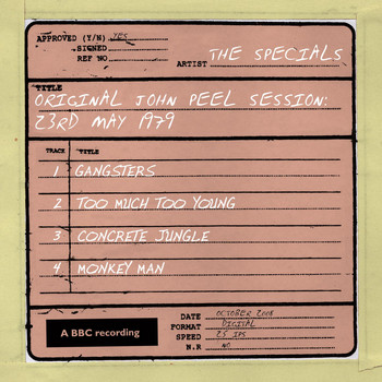 The Specials - John Peel Session (23 May 1979)