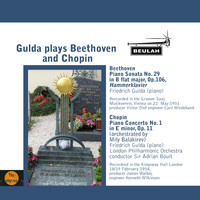 Friedrich Gulda - Gulda Plays Beethoven and Chopin