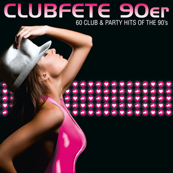 Various Artists - Clubfete 90er - 60 Club & Party Hits Of The 90's