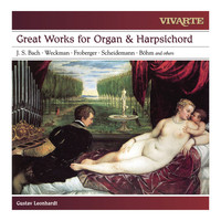 Gustav Leonhardt - Great Works for Organ & Harpsichord: Bach, Froberger, Weckmann, Scheidemann, Böhm and others
