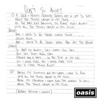 Oasis - Don't Go Away (Mustique Demo)