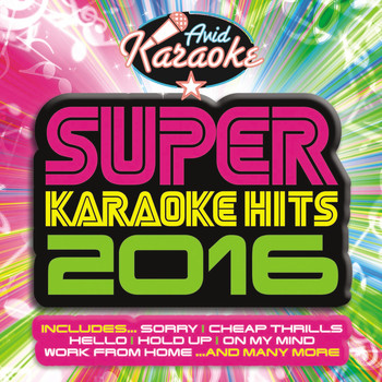 AVID Professional Karaoke - Super Karaoke Hits 2016 (Professional Backing Track Version)