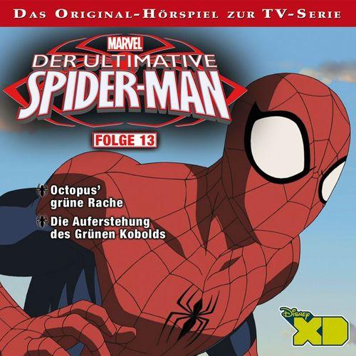 Marvel - Der ultimative Spider-Man MP3 Track Folge 13: Kapitel 1 - Die Auferstehung des Grünen Kobolds