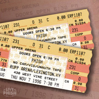 Phish - PHISH: 11/07/96 Rupp Arena, Lexington, KY (Live)