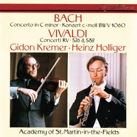 Gidon Kremer - J.S. Bach: Concerto in C Minor / Vivaldi: Concerto in G Minor; Violin Concerto in D Major