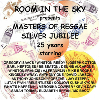 Gregory Isaacs - Room in the Sky Presents Masters of Reggae Silver Jubilee 25 Years