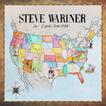 Steve Wariner - All Over The Map