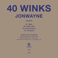 Jonwayne - 40 Winks - Single