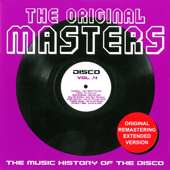 Various Artists - The Original Masters, Vol. 4 the Music History of the Disco
