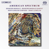 Branford Marsalis - Daugherty, M.: Sunset Strip / Williams, J.: Escapades  / Rorem, N.: Lions / Rouse, C.: Friandises