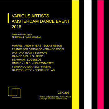 Various Artists - Cubek: Amsterdam Dance Event 2016