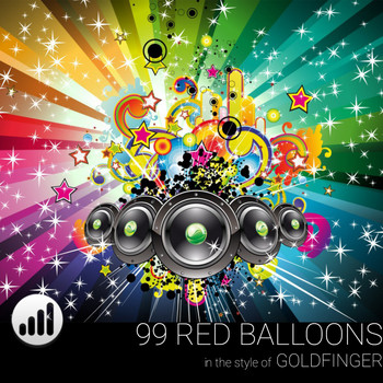 99 Red Balloons In The Style Of