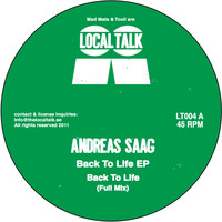 Andreas Saag - Back To Life / Wilderness