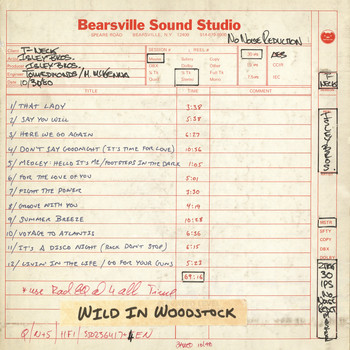 The Isley Brothers - Wild in Woodstock: The Isley Brothers Live at Bearsville Sound Studio (1980)