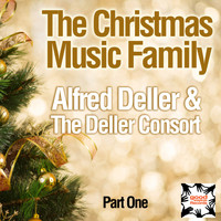Alfred Deller & The Deller Consort - The Christmas Music Family (Part One)