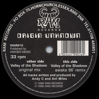 Origin Unknown - Valley of the Shadows